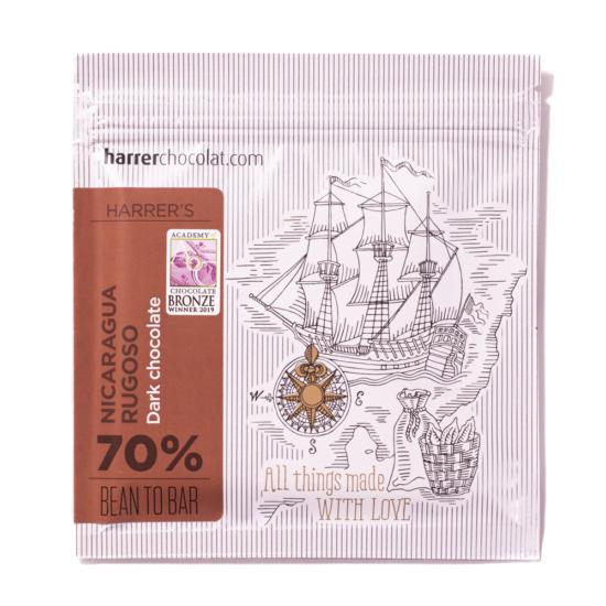 Nicaragua Rugoso 70% étcsokoládé