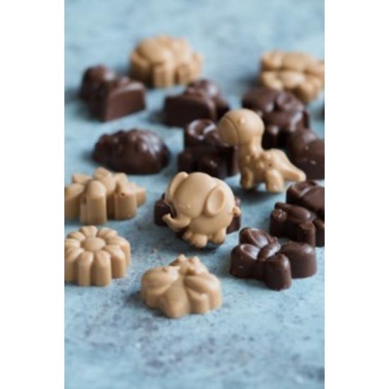 Csokoládéfigura tej/karamell