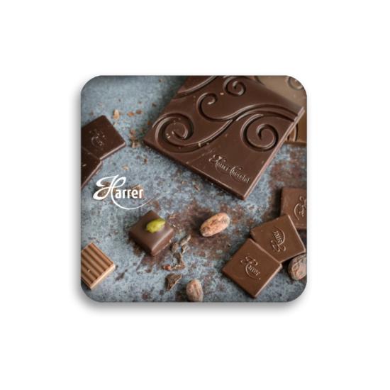 Hűtőmágnes - csoki