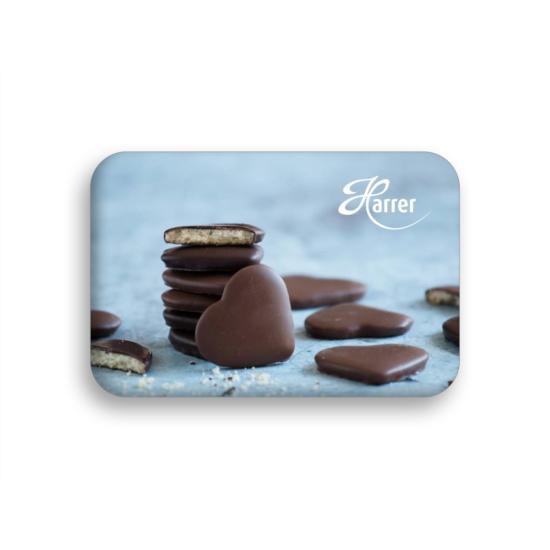 Hűtőmágnes - csokis keksz
