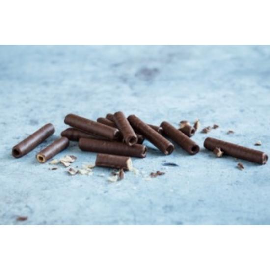 Tejcsokoládéba mártott roletti